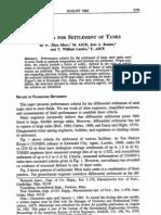 Criteria for Settlement of Tanks Marr Ramos Lambe ASCE