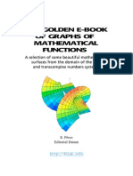 The Golden eBook of Graphs of Mathematical Functions