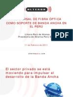 RED DORSAL DE FIBRA ÓPTICA