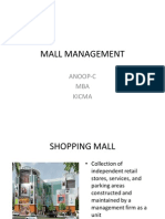 Mall Management Ppt