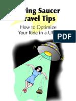 Flying Saucer Travel Tips