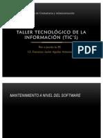 Taller tecnológico de la información (TIC's)