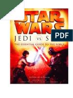 Jedi vs Sith La Guia Esencial de La Fuerza
