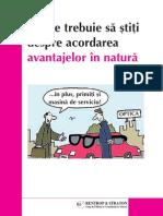Raport Special - Avantaje in Natura