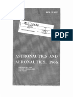 Astronautics and Aeronautics, 1966
