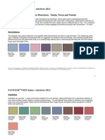 Pant One View Home Interiors Colors and Blurbs
