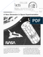 NASA Facts a New Dimension in Space Experimentation