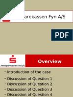 Amtssparekassen Presentation