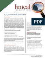 H2O2 Passivation Procedure