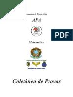 AFA _Coletânea de Provas - Matemática_99-00-01