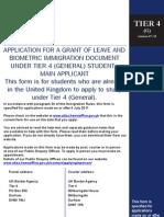 Tier Application Form 1