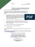 Rapport Fmi 2007 Iran