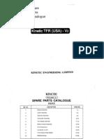 Kinetic Moped Parts Manual