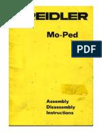 Kreidler Moped Service Manual