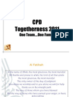 CPD Togetherness 2011