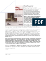 Kata Pengantar Buku-Buku Ekonomi Moneter Dan Perbankan Indonesia