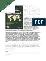 Kata Pengantar Buku-Buku Perekonomian Indonesia