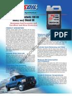 Amsoil Heavy Duty Diesel 5W-30 g1301