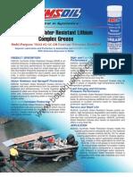 Amsoil Water Resistant Lithium g1281