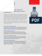 OE 15W-40 Synthetic Diesel Oil g2885