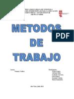 METODO DE TRABAJO