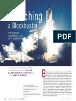 Launching a Blockbuster Article