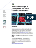 Alternative Crops and Enterprises for Small Farm Diversification