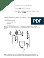 Relazione Laboratorio Elettronica Industriale