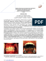 Anatomia de La Cavidad Oral