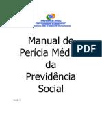 MANUAL PERÍCIA MÉDICA INSS