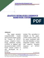 Adaptive Neuro-fuzzy Inference - IT