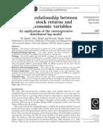 Long Run Relationship Between Islamic Stock Returns