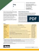 Tube Selection Guide