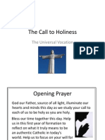 The Universal Call to Holiness