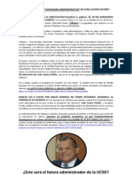 La verdad de Iván Castro Patiño como administrador