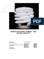 Energy Credits Trading Final Report
