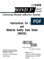 Bisco All-Bond 3 Instructions for Use