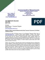 Moveourmoney.masschusetts of Common Wealth
