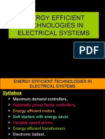 EE Tech in Electrical Systems