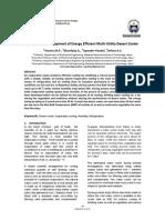 Design and Development of Energy Efficient Multi-Utility Desert Cooler