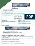 Integración de los procesos aprendidos Selección y Priorización de los proyectos de una organización
