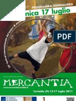 Mercantia 2011 - Certaldo - Programma di Domenica 17 Luglio
