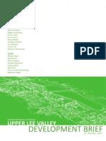 Upper Lee Valley, Development Brief