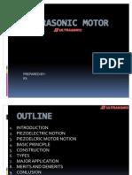 A Ultrasonic Motor
