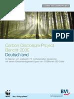 CDP Bericht 2009 Dt - Kopie