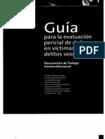 Evaluación de Daño  en Delitos Sexuales  1