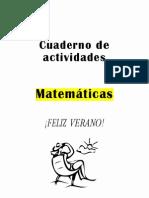 Repaso vacaciones matemáticas 3º EP