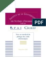 2005 - Vers Un Standard de Pilotage Des Couts Informatiques - IGSI Web