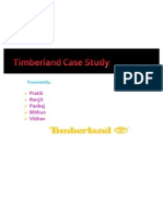 Timberland Case Study