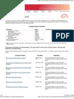 Preventive Medicine Residency Programs